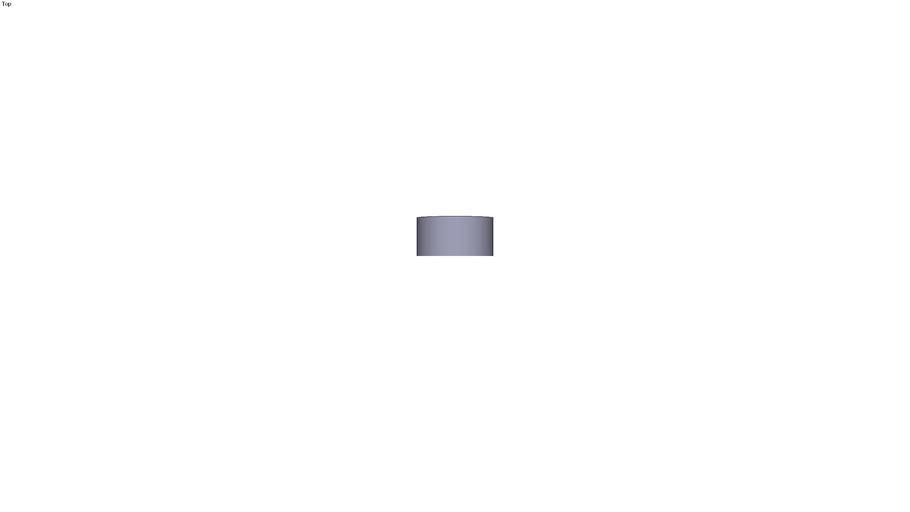 Tampon ressort Ø40/Ø13.5 longueur: 20 mm Série U et E matière: U42/E420/ORANGE 80SH