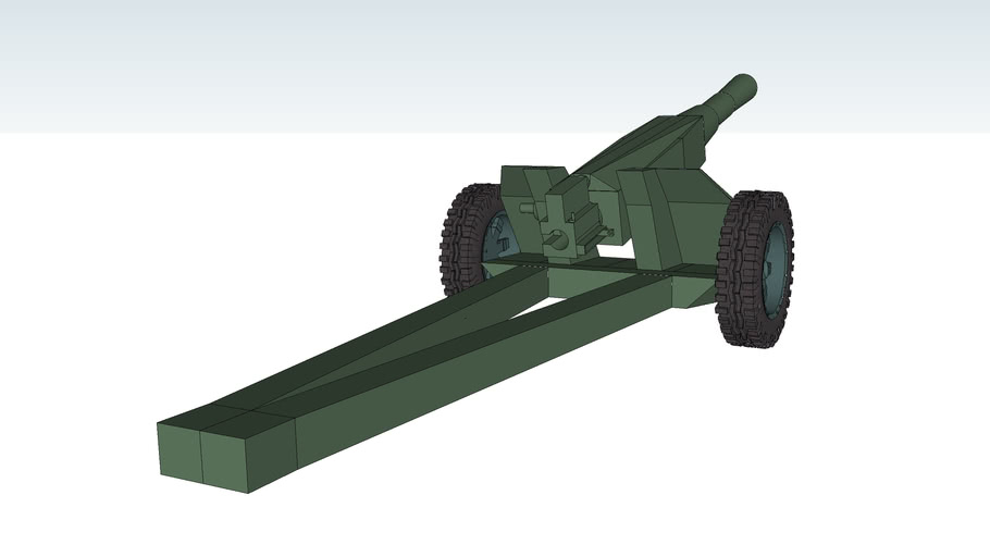 A-60 Light/mountain howitzer 122mm