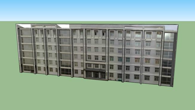 榆林学院6号教学楼 - 王明明制作
