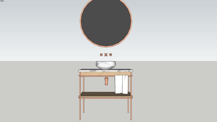 bathroom furniture LUNA BY SAIF