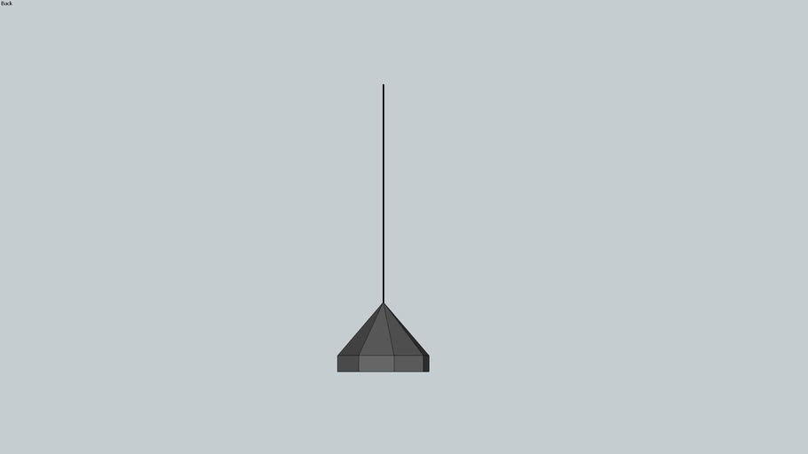 suspension octogonal