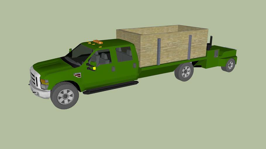 F-350 Chipper Truck with Chipper