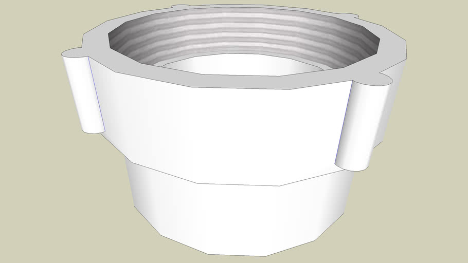 """3"""" PVC female adapter (Sched. 40)"""