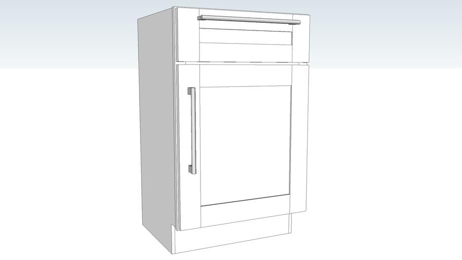 Vanity Base Single Door