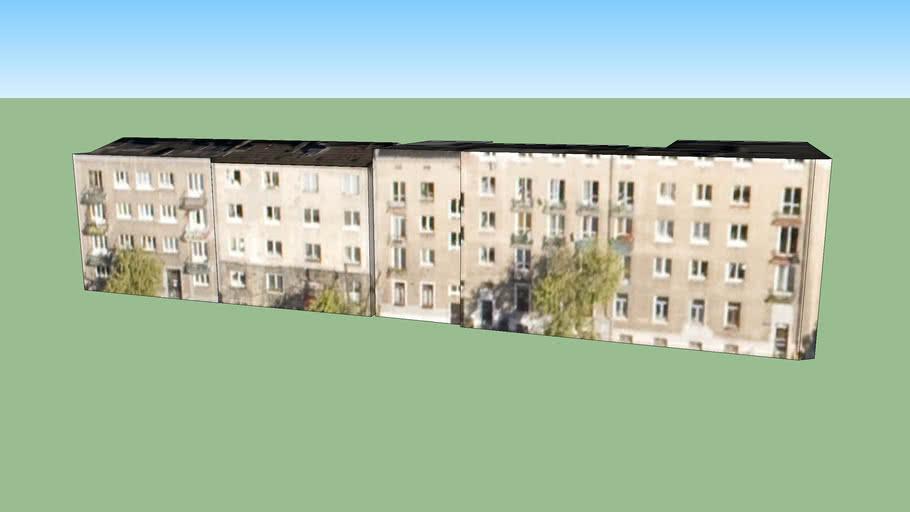 Edificaciones residenciales en Varsovia, Polonia.