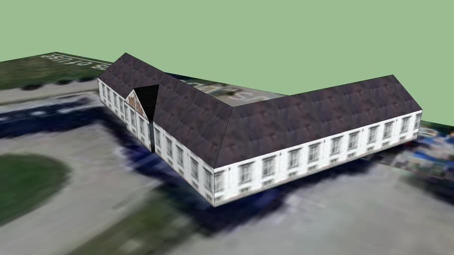 Lerchenborg Palace - Right wing