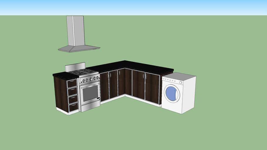 cocina en L