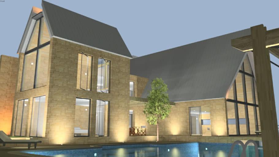 Luxury house (Projet d'habitation 5)
