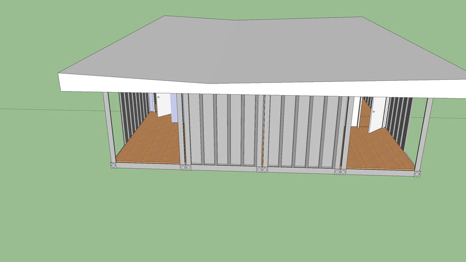 ISBU Container Home(1280sf.)