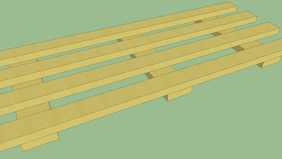estrado de madeira