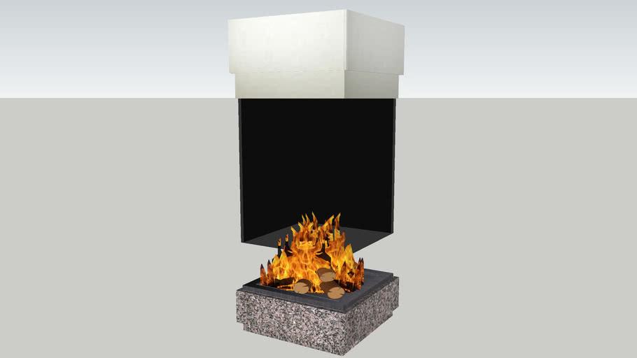 Modern Fireplace By Francesca Monti