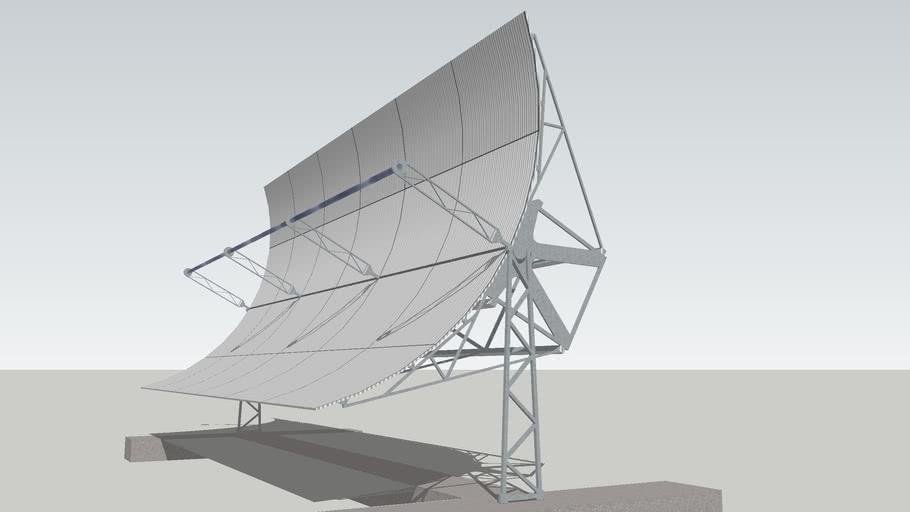 Parabolic Trough Solar Collector