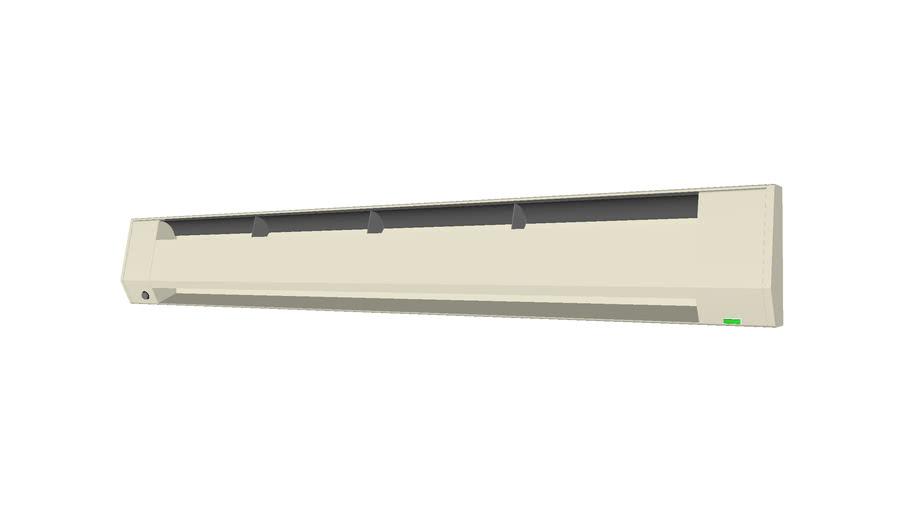Baseboard Heater 6ft - Detailed