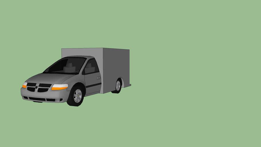 Dodge caravan box truck