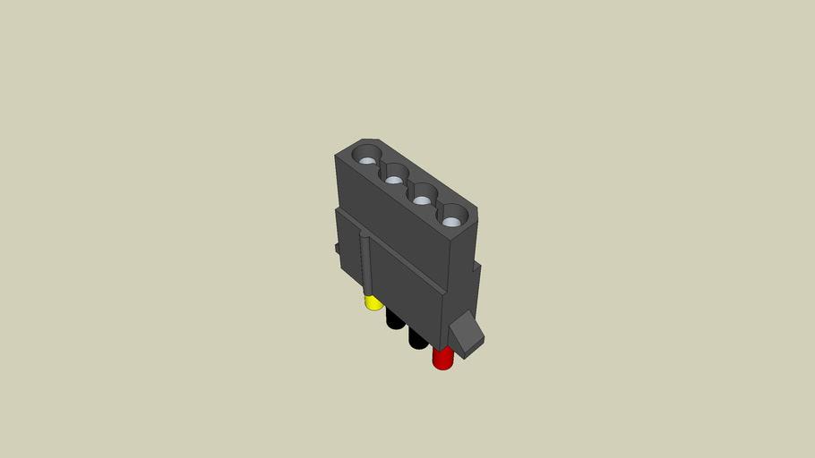 4 Pin Molex