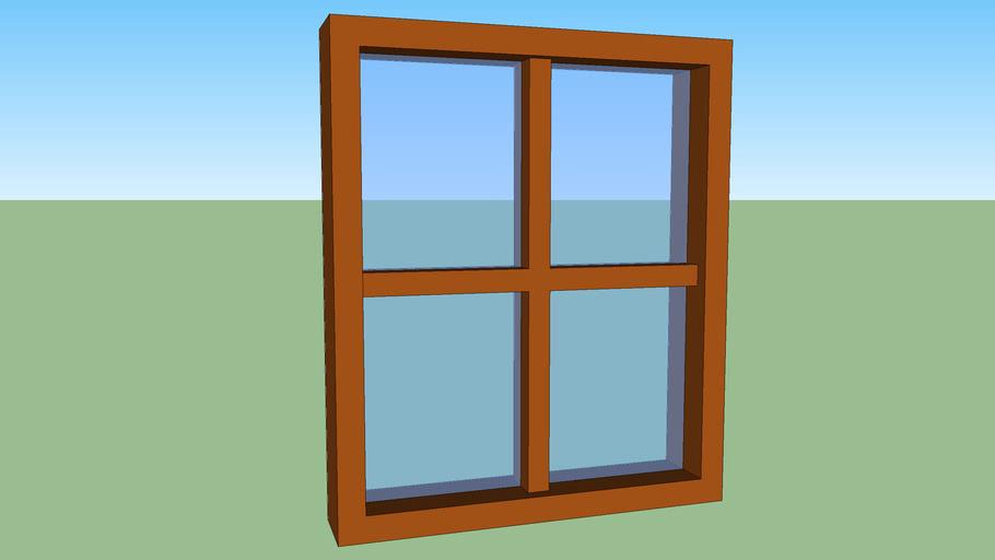 Window 115 x 95 cm