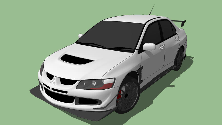 Mitsubishi Lancer Evolution Evo 8
