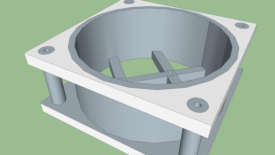 120 mm AC Fan Housing