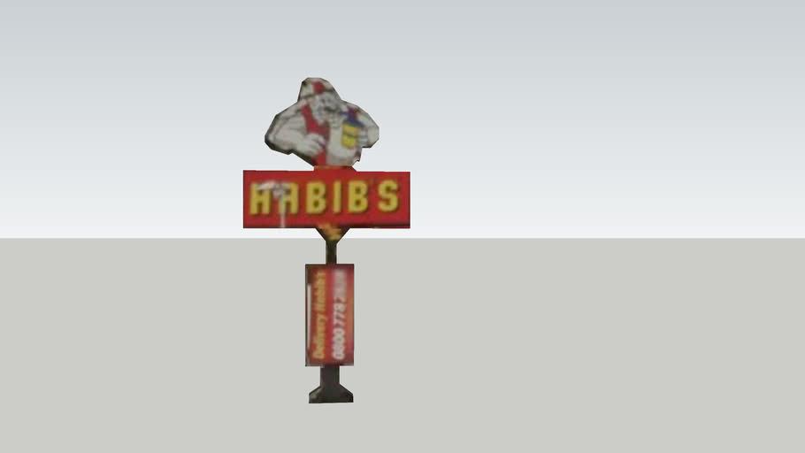 Habibs - Av Com Franco - totem