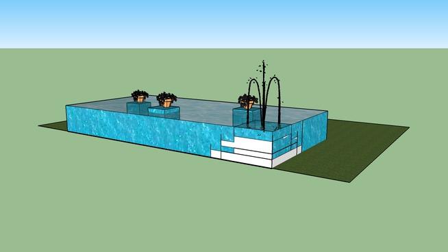 Rectangle Pond