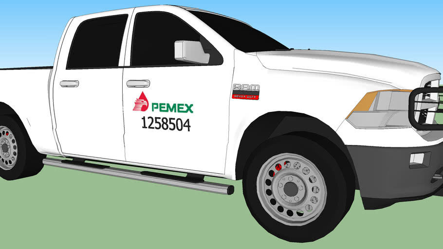 DODGE RAM MODEL 2011  PEMEX