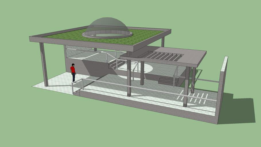 Modelo 3D desarrollado por José Carlo Sanchez