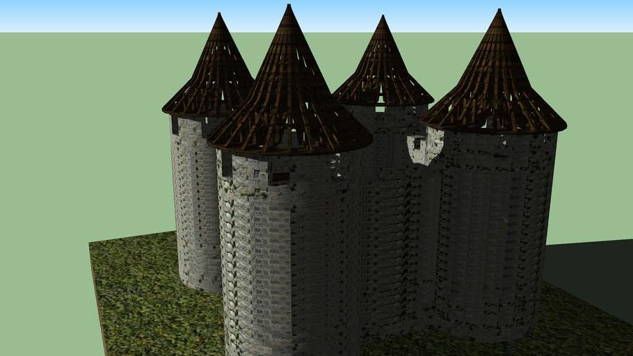 Castle construction animation