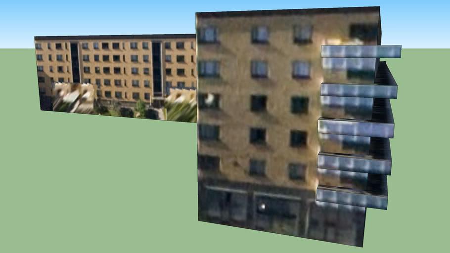 Building in Stockholm urban area, Sweden