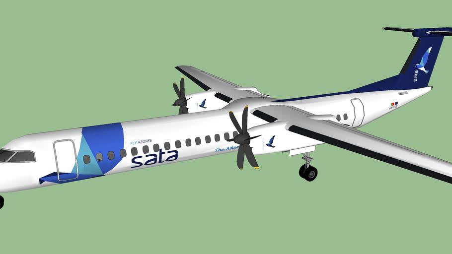 SATA Air Açores (2012) - Bombardier Dash 8-Q402