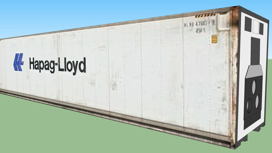 Hapeg-Lyold Reefer Container ''40''