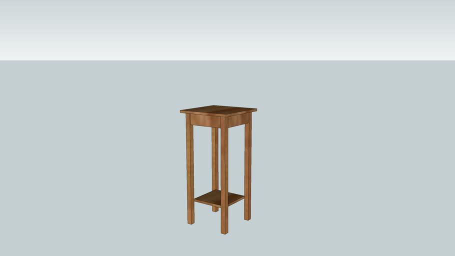 pam's table 1 shelf