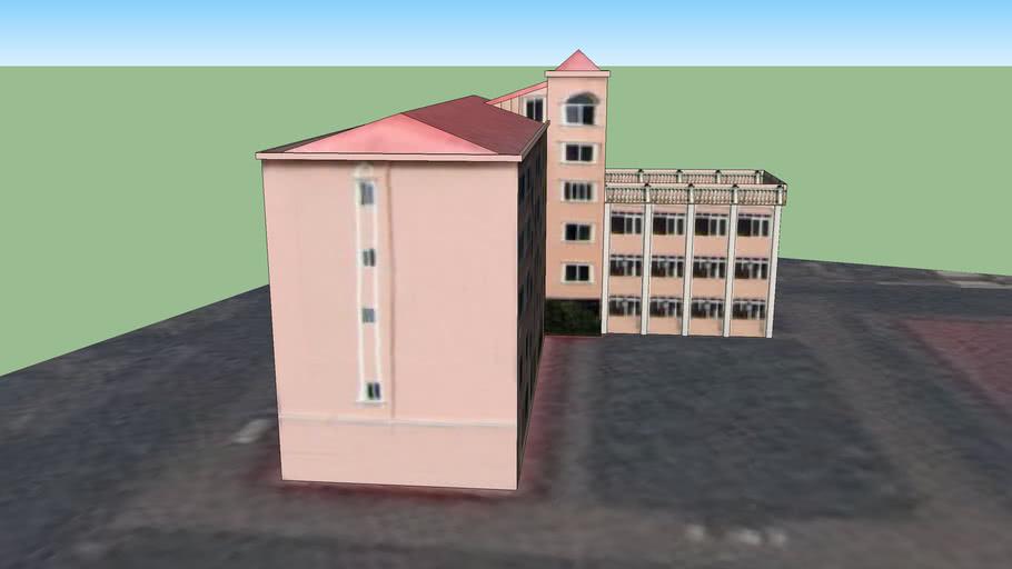 南充 福音圣堂 教牧楼 附属楼