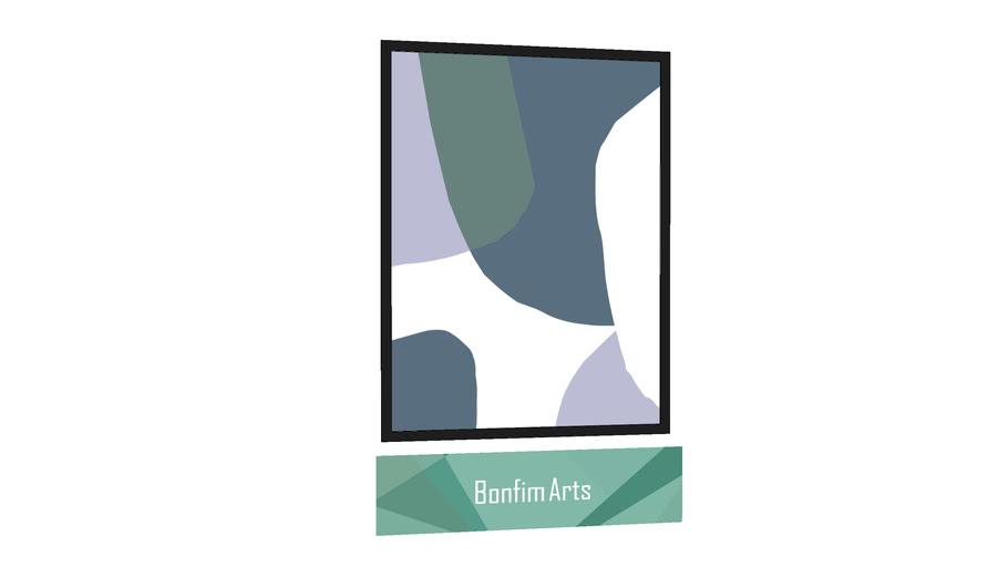 QUADRO BONFIM ARTS - Quadro Bubbles 01 por Bonfim Arts