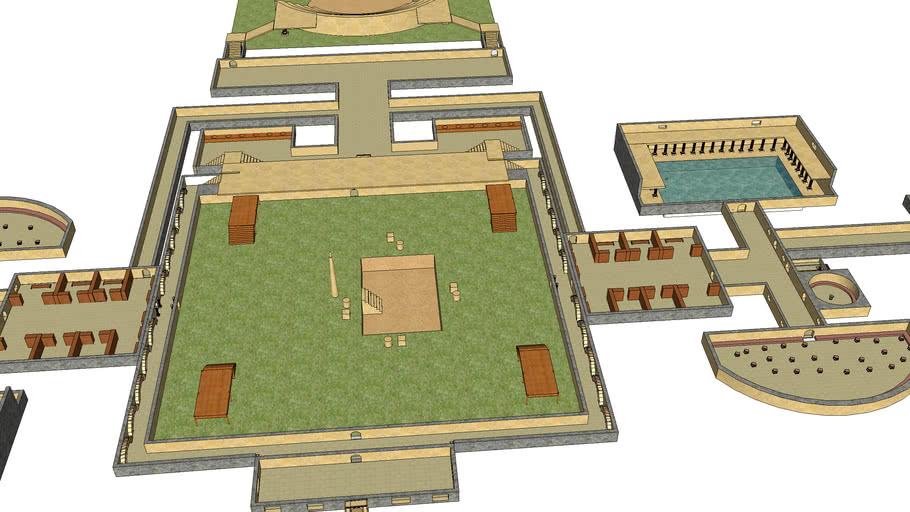 Roman Bath House (Therma)