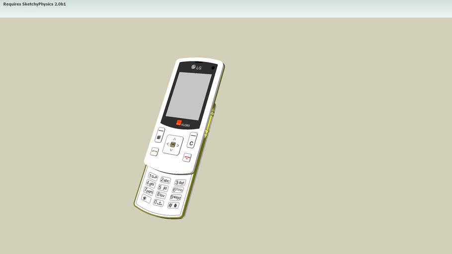 cellphone LG KU380
