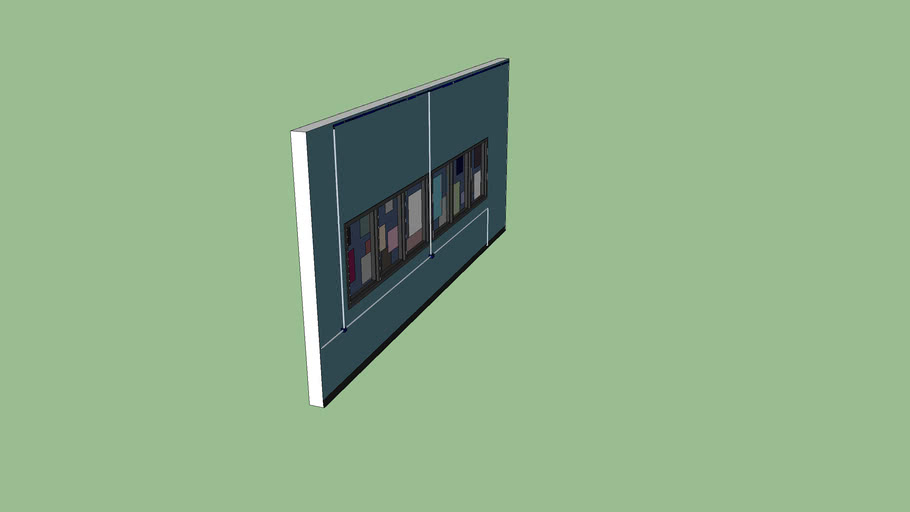 RWA - Room 206 - North Wall