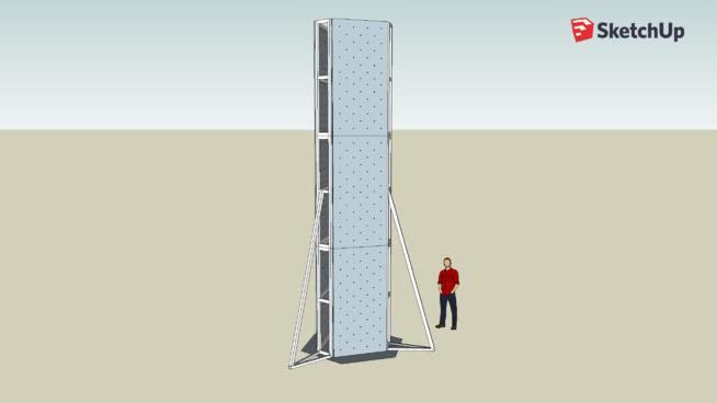 Muro de escalada 3 lados
