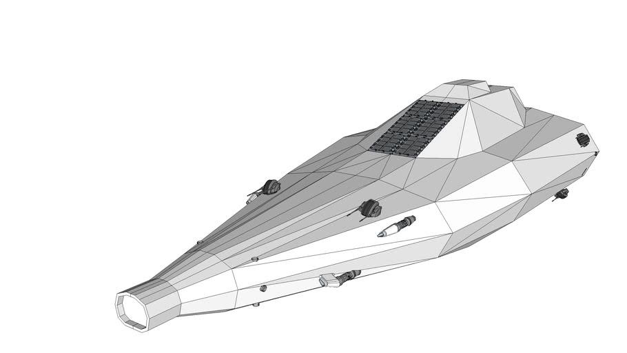 FS-306 Class Corvette  WIP Spaceship