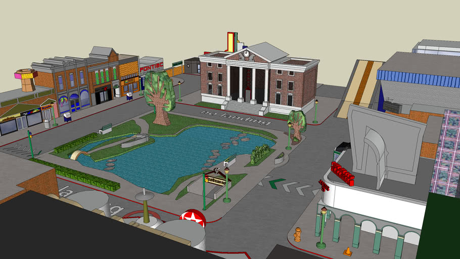 hill valley 2015 ( back to the future )