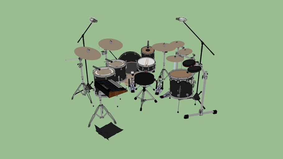 Dominic Howard's Drum Kit