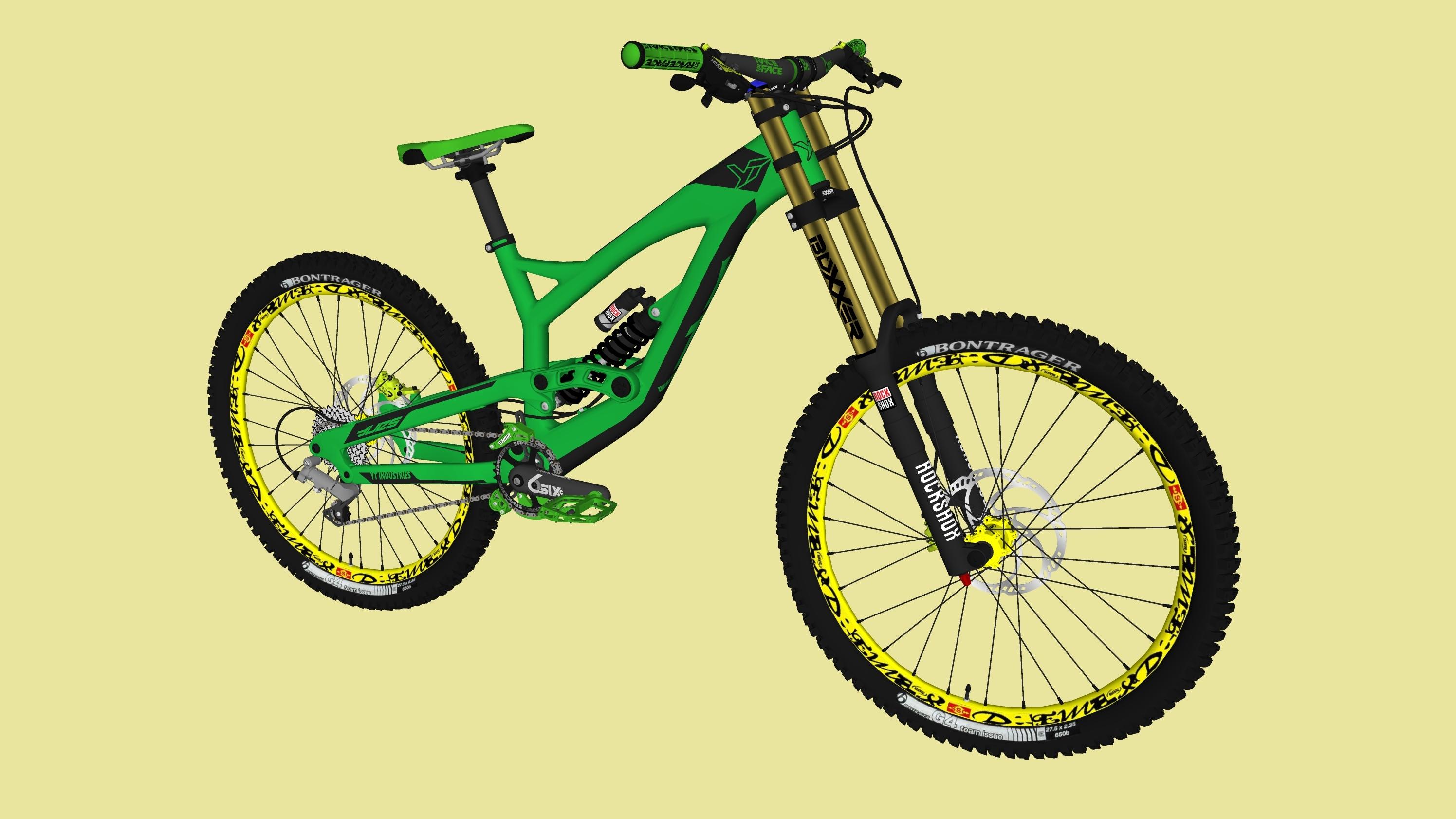 Bike and bike parts