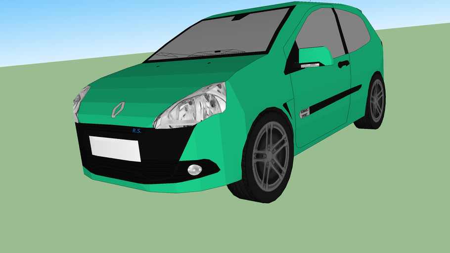 Renault clio R.S. cup 2010