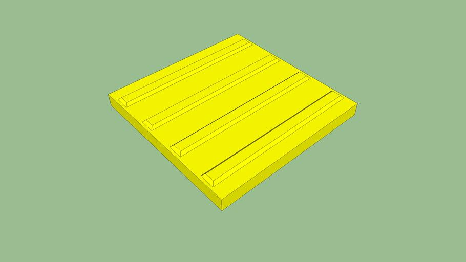点字ブロック(誘導・すすめ) Tactile Paving