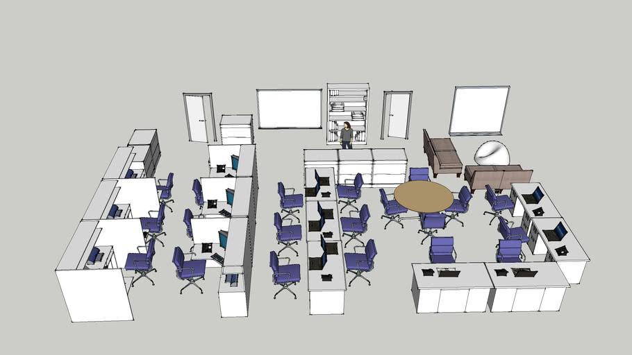 conceptual sketch office