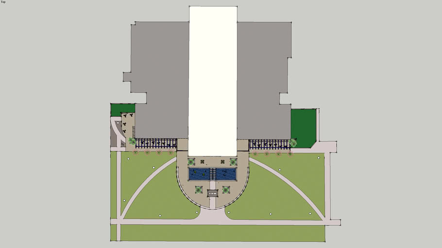 UNO University Center Plaza Redesign