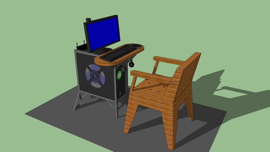 PC Table minimalist