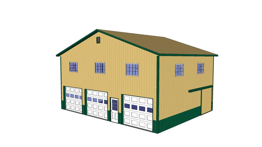 Durabarn 360 Building Model