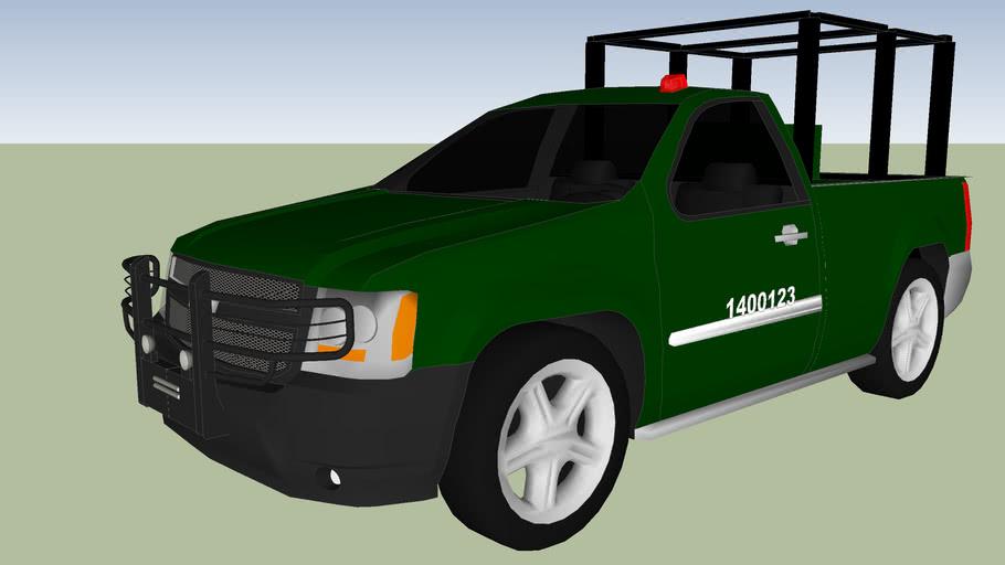 camioneta del ejercito mexicano sedena