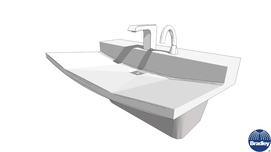 ADA Verge Sink LVL Series 1-Station