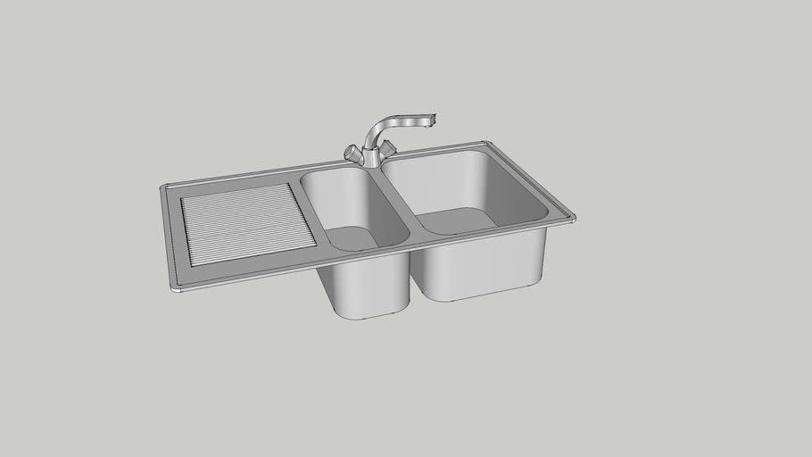 Lavello 1 vasca e mezza
